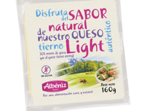 8- Porción de queso tierno light