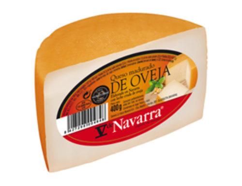 6-Queso de oveja V Navarra 1/2 piezas ± 400 g.