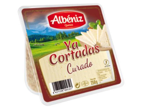 """5-Cuña de queso curado """"Ya cortadas"""" 250 g."""