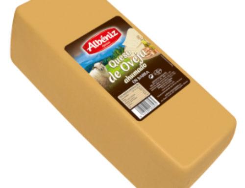 8-Barra queso de oveja ahumado 3kg.