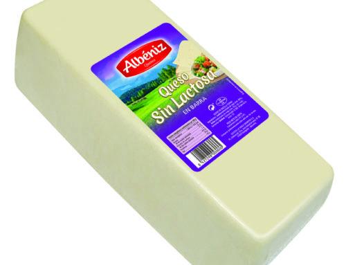 8-Barra queso sin lactosa 3 kg.